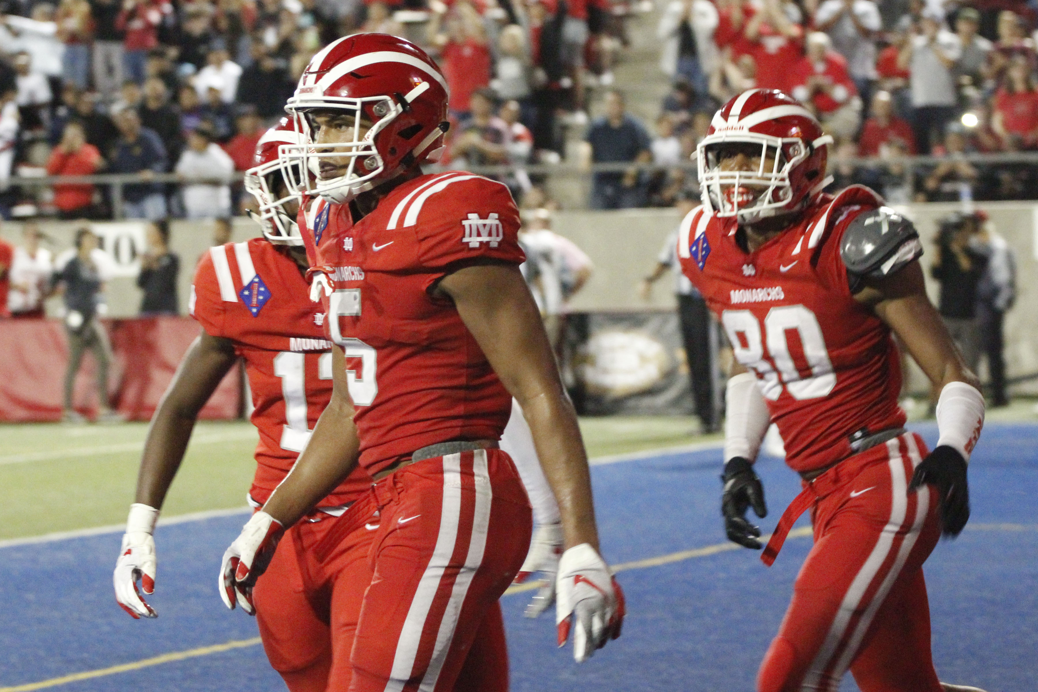 Mater Dei Stuns No 1 Img Academy 28 24 With Last Minute Touchdown