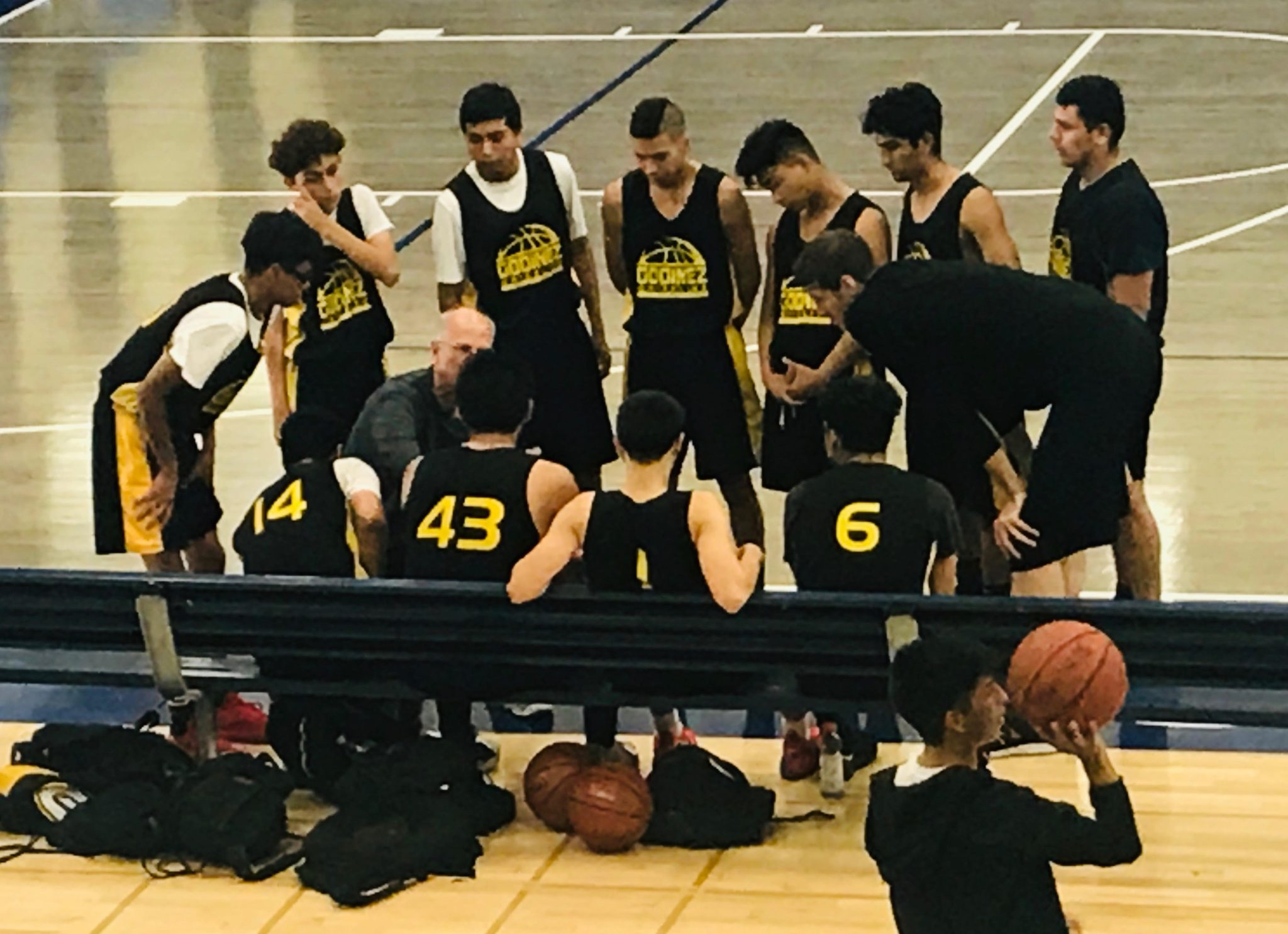 Local teams tuning up during summer league games in Santa Ana high