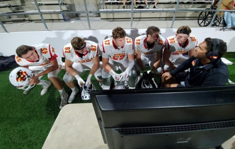 Mission Viejo's defensive line the difference in Diablos' 23